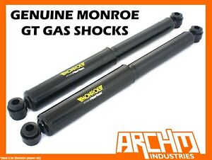 MONROE GT GAS REAR SHOCK ABSORBERS FOR FORD FALCON BA BF XT FAIRMONT GHIA SEDAN