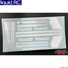 RC 4WD Z-B0177 Rc4wd Clean Stripes for D110 Decal Sheet (White)