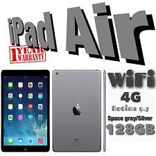 Apple iPad Air 1st Gen 128GB, Wi-Fi + 4G (Unlocked), 9.7in - Space Grey / Silver