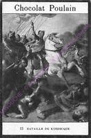 CHROMO CHOCOLAT POULAIN HISTOIRE Bataille de Kosbecque n 13