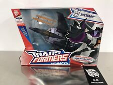 Transformers Animated Skywarp Voyager Class NEW SEALED