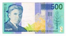 500 Frank/Francs    type  Magritte    1998-2001     Morin 87