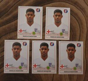 1x Panini Marcus Rashford Nr.146x Rookie Sticker England Euro 2016 PSA BGS GMA ?
