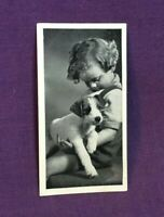 *Advertising Tobacco Dog Card CARRERAS CIGARETTES Wire Haired Fox Terrier
