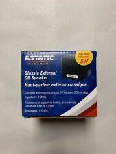 Astatic 302-VS4 5W Noise Cancelling External Cb Speaker