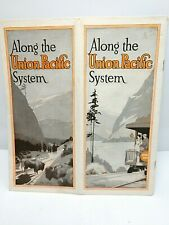 1920's Along the Union Pacific System Western U. S. Travel Brochure