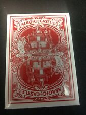 Famous Magic Castle Poker Playing Cards II Hollywood Collectible Limited Edition