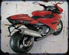 BENELLI Tornado Tre RS 04 A4 Metal Sign moto antigua añejada De