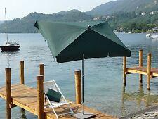 Maffei ombrellone Novara Art.114R verde poliestere 210x130 cm made in Italy