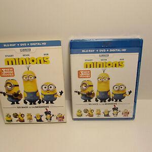Minions Blu-ray Sandra Bullock + DVD+Digital HD  NEW