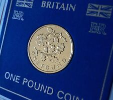 2013 England Rose & Oak Leaf English Floral £1 Coin (BU) Hunt Collector Gift Set