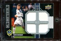 2011 Upper Deck Soccer MLS DAVID BECKHAM MLS Materials Quad Game-Worn Patch!