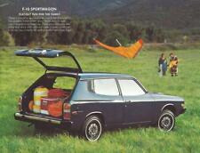Print.  1976 Datsun F-10 auto advertisement