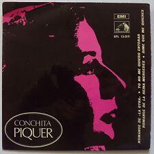 CONCHITA PIQUER ~ EMI SPAIN ~ RARE POP 45 & PS ~ SUPER BEAUTIFUL! TOP!
