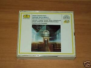 CD -J.S.BACH-MESSE IN H-MOLL - LUDWIG-KARAJAN - DG