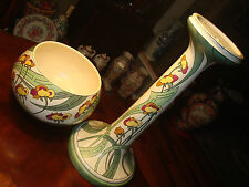 "Vintage Roseville Persian Pattern Jardiniere and Pedestal, 41"" H, Ca1908"