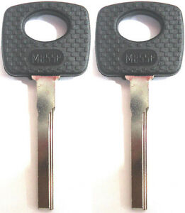2 NEW MERCEDES-BENZ HIGH SECURITY IGNITION KEY BLANK - FIT MANY MODELS S34YS-P