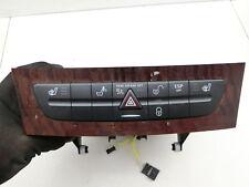 Warnblinkschalter Schalter Sitzheizung ZV ESP für Mercedes W211 E200 03-06
