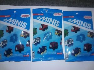 FISHER PRICE THOMAS & FRIENDS MINIS 2017/1 JAMES 19 PERCY 20 VICTOR 21 PACKS
