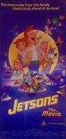 JETSONS THE MOVIE ORIGINAL 1990 AUSTRALIAN CINEMA POSTER MEL BLANC TIFFANY