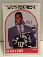 David Robinson 1989-90 NBA Hoops Basketball Rookie RC #138 Spurs NBA HOF