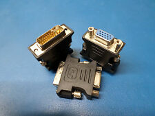 DVI-I 24+5 Pin Male To HD15 Pin VGA Female Adapter Convertor M to F DVI I to VGA
