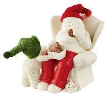 Dept 56 Snowbabies Cookies With Santa Figurine Ornament 14cm 4051909 New