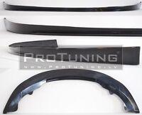 For Skoda Octavia MK2 II Front Bumper spoiler lip Valance lower bumper splitter