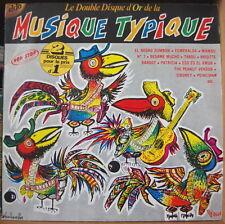 LE DOUBLE DISQUE D'OR DE LA MUSIQUE TYPIQUE DOUBLE FRENCH LP