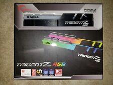 ✅ G.SKILL TridentZ RGB 32GB (2x16GB) *CL14* 3200MHz PC4-25600 DDR4 SAMSUNG B-Die