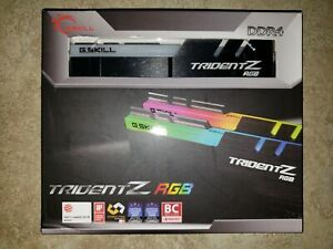 ✔New✔ G.SKILL TridentZ RGB 32GB (2x16GB) *CL14* 3200MHz DDR4 PC4-25600 *B-Die*