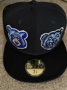 MILB  2 BEARS 1 CAVE LIMITED EDITION NEW ERA CAP SIZE 7 3/4 **BRAND NEW IN BOX**