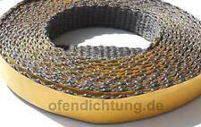 5m Flachband Iso Thermo Band 20x4mm Kaminofen Rauchrohr abdichten Ofendichtung