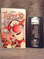 The Tigger Movie (VHS, 2000) Winnie the Pooh Walt Disney Clam Shell Case