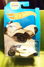 Hotwheels Hot Wheels White Tomb Up Car Fright Collection MINT ON CARD