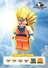 BREAKTHROUGH ARMY - Custom-Made Dragon Ball (3.2) Super Goku 3 for Lego!