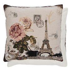 Clayre Eef Kissenhülle Kissen Paris  Landhaus Nostalgie Shabby 45x45cm