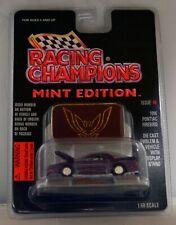 Racing Champions Mint edition issue #8 1996 Pontiac Firebird (Purple)