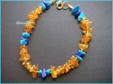 Handmade Natural Amber Beaded Fine Bracelets
