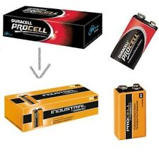 Duracell Industrial MN1604 9V E-Block Batteria Alkaline - 10 Pezzi