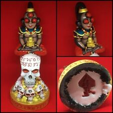 Phra Ghost Ngang Gold Face LP Wang Thai Amulet Charm Love Mercy Skull Magic Luck
