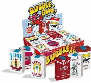 WORLDS BUBBLE GUM CIGARETTES U choose Amount BULK Gum NOSTALGIC FREE SHIP