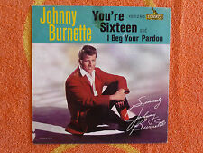 JOHNNY BURNETTE You're Sixteen 45 rpm PICTURE SLEEVE ONLY Liberty 1960