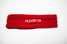 Supreme New Era Classic Logo New York Red World Famous Headband 2015 FW