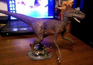 Professionally Built 1993 Lindberg Jurassic Park 'Raptor' Model Kit