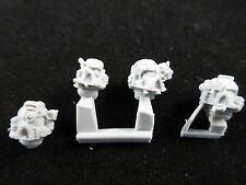 40K Space Marine Iron Hands Finecast Heads Set (4)