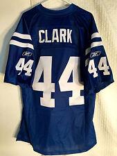 Reebok Premier NFL Jersey INDIANAPOLIS Colts Dallas Clark Blue sz L