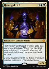 HAVENGUL LICH Commander 2017 MTG Gold Creature — Zombie Wizard Mythic