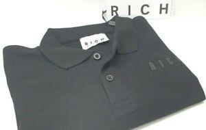 Men's Pole John Richmond - Art. HHME90449ONA - Colour Black - Discount - 60%