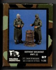 VERLINDEN 617 - OSTFRONT BREAKFAST WWII (2) - 1/35 RESIN KIT
